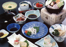 ふぐ料理 日本料理 山庵